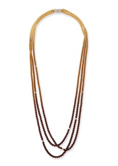 Lafayette 148 Ombre Beaded Necklace