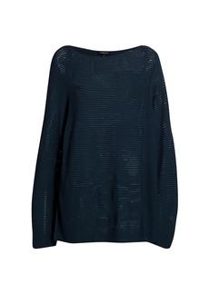 Lafayette 148 Ottoman-Stitch Sweater