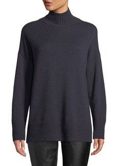 Lafayette 148 Oversized Cashmere Turtleneck Sweater