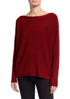 Lafayette 148 Oversized Merino Wool Dolman Sweater