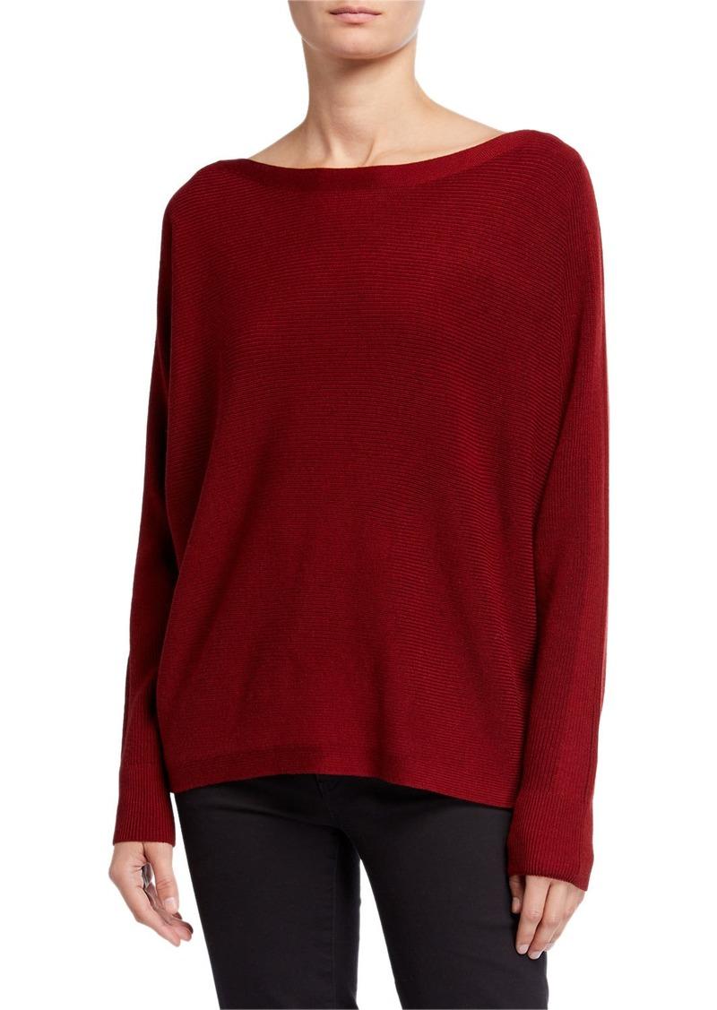 Lafayette 148 Oversized Merino Wool Dolman Sweater