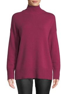 Lafayette 148 Oversized Turtleneck Cashmere Sweater