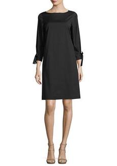 Lafayette 148 Paige 3/4-Sleeve Jersey Dress