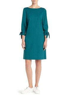 Lafayette 148 Paige Tie-Sleeve Shift Dress