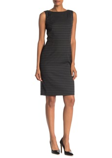 Lafayette 148 Paulette Sleeveless Sheath Dress