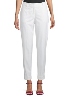 Lafayette 148 Perry Slim Cuffed Suiting Pants