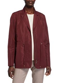 Lafayette 148 Porsha Drawstring Waist Jacket