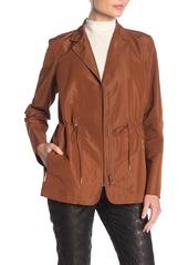Lafayette 148 Porsha Notch Collar Jacket