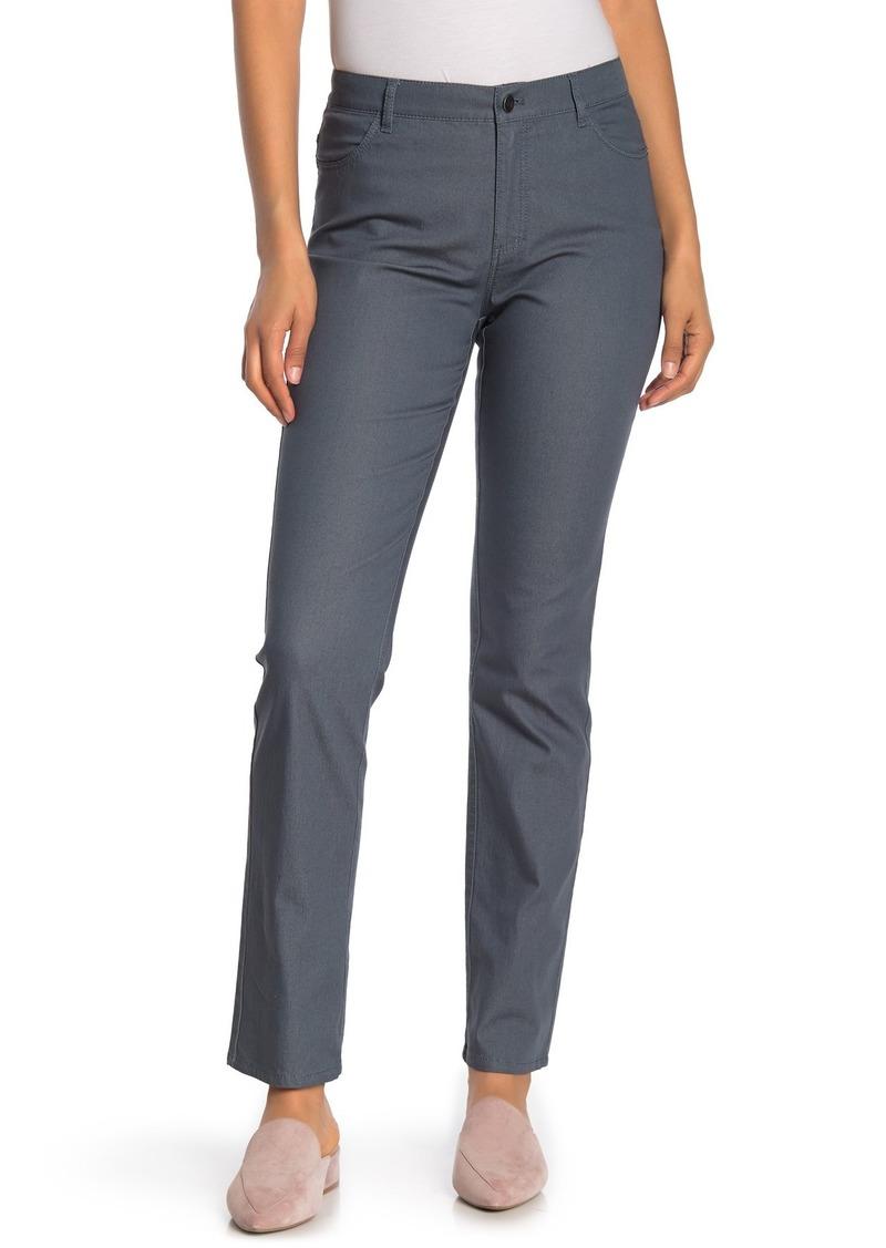 Lafayette 148 Primo Denim Curvy Fit Slim Leg Jeans