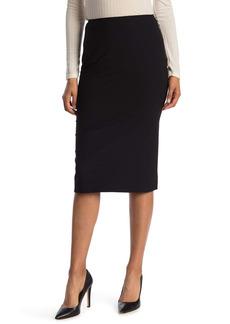 Lafayette 148 Priscilla Wool Blend Pencil Skirt