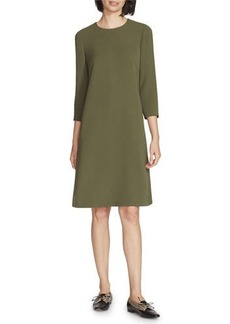 Lafayette 148 Quintana Finesse Crepe Dress