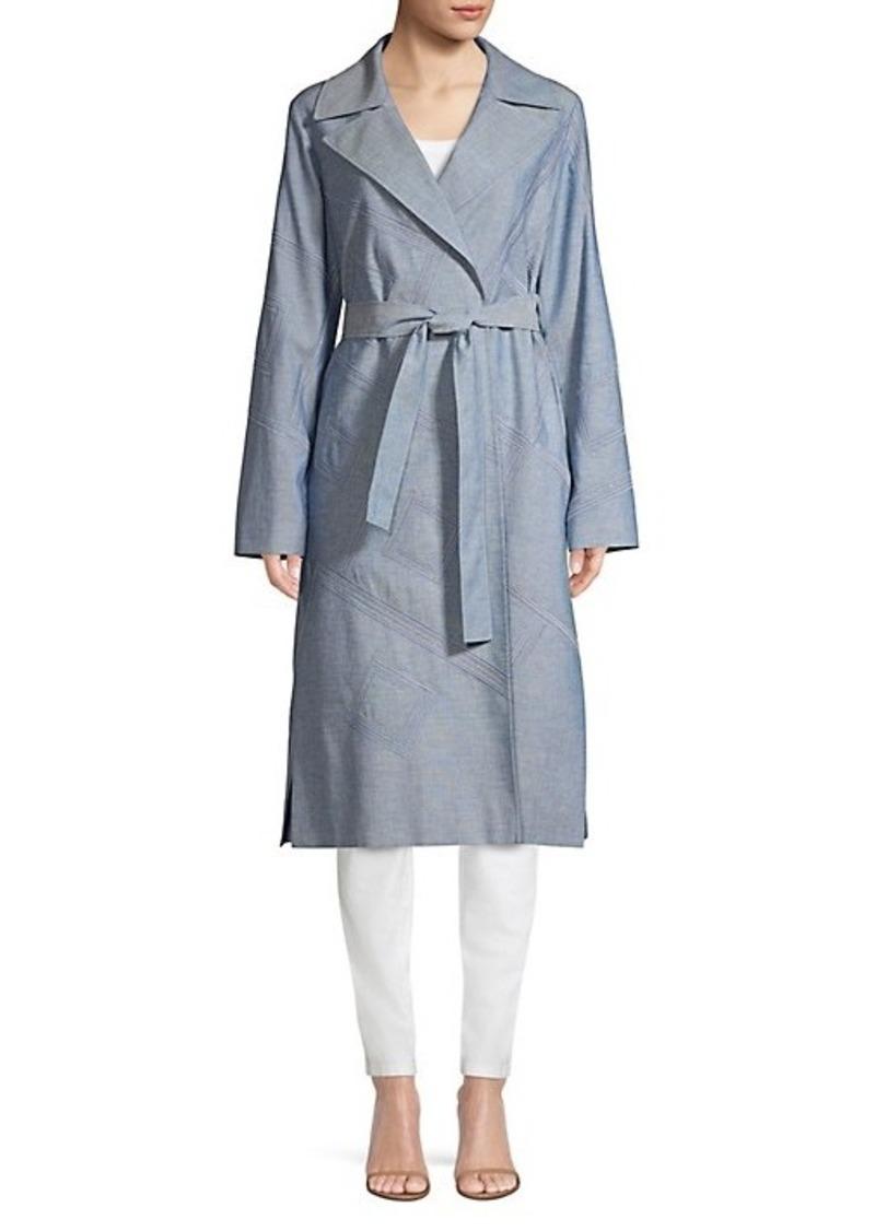 Lafayette 148 Rayna Embellished Coat