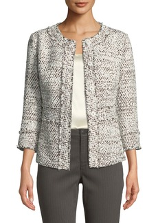Lafayette 148 Reagan Tweed Jacket