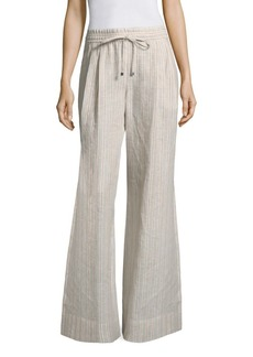 Reed Striped Linen Pants