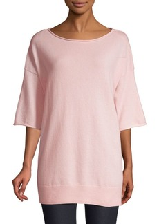 Lafayette 148 Relaxed Cashmere Pullover