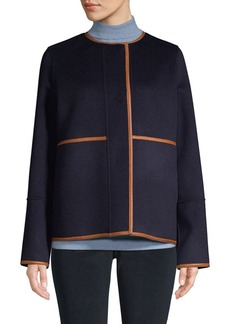 Lafayette 148 Reversible Wool and Cashmere Jacket