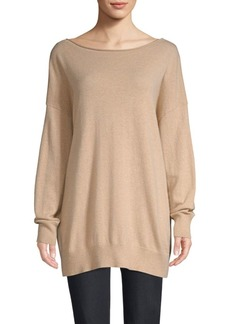 Lafayette 148 Ribbed Cashmere Sweater