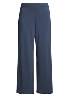 Lafayette 148 Riverside Matte Jersey Cropped Pants