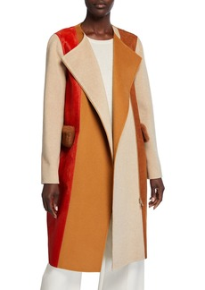 Lafayette 148 Robyn Wool/Cashmere Coat