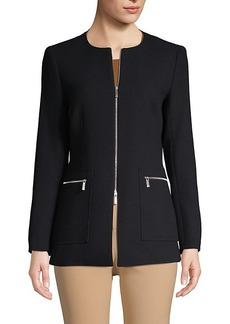 Lafayette 148 Roundneck Wool Jacket
