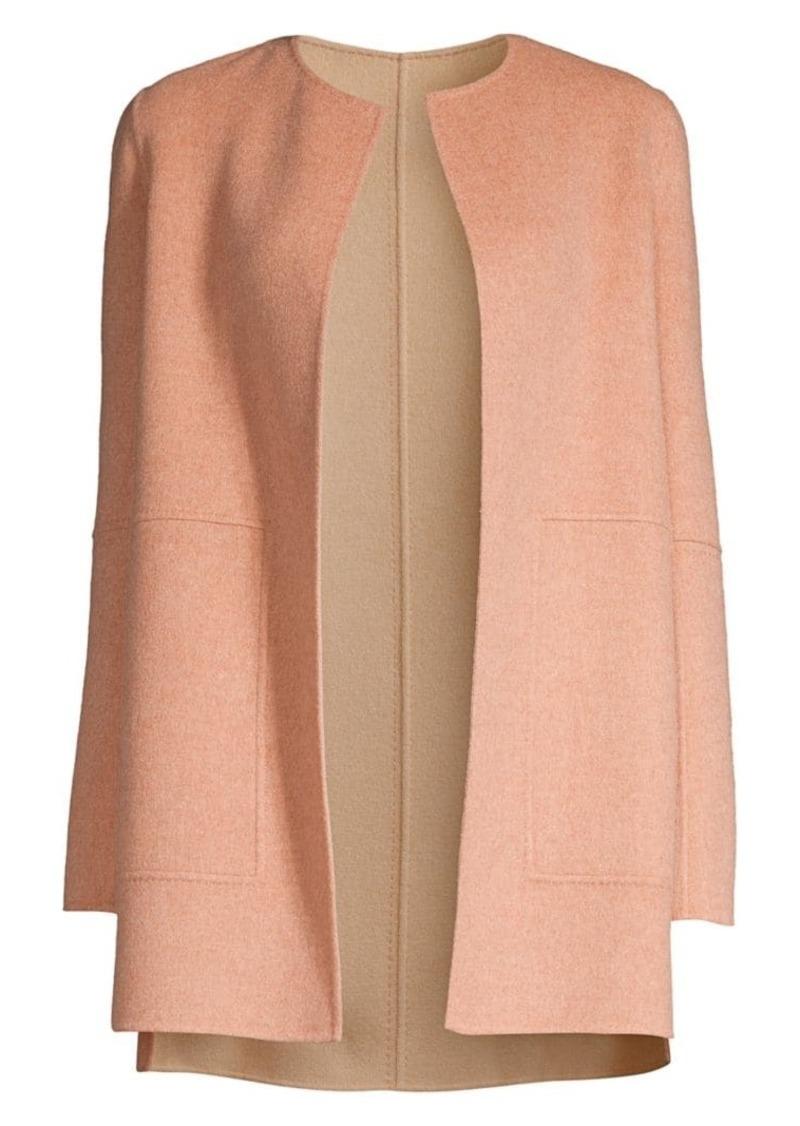 Lafayette 148 Rowena Reversible Wool-Blend Jacket