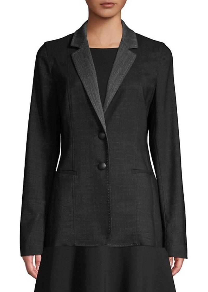 Lafayette 148 Rozella Stretch Wool Jacket