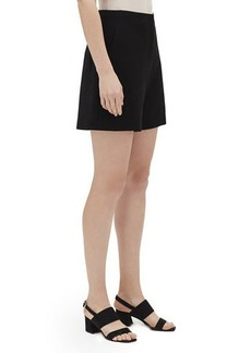 Lafayette 148 Ryerson Finesse Crepe Shorts