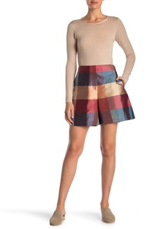 Lafayette 148 Ryerson Silk Shorts