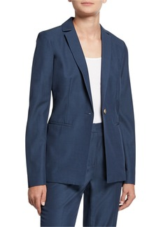 Lafayette 148 Samson Sanctuary Cloth Blazer