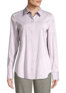 Lafayette 148 Scottie Striped Shirt