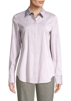Lafayette 148 Scottie Striped Shirt