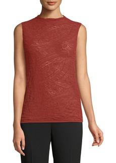 Lafayette 148 Sleeveless Lace Sweater