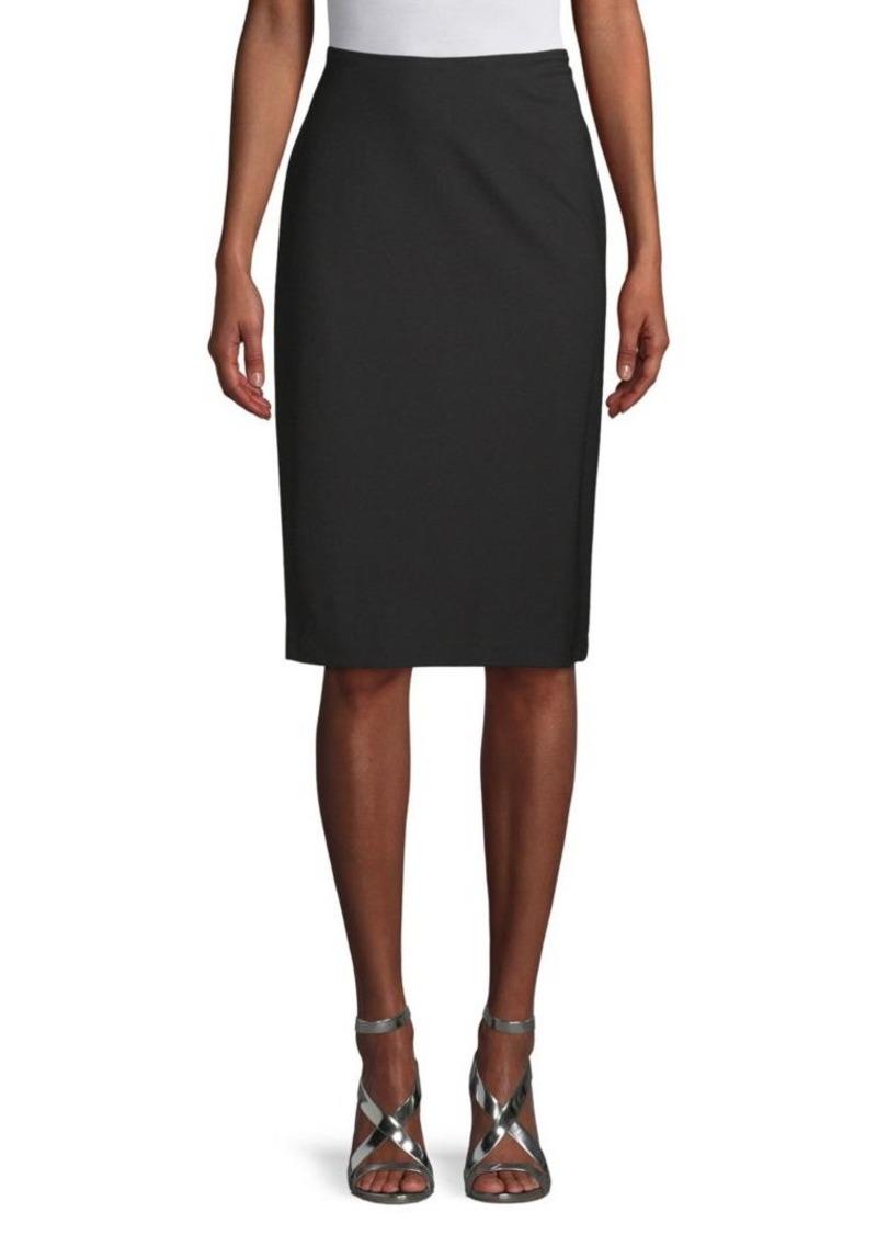 Lafayette 148 Slim-Fit Knee-Length Skirt