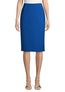 Lafayette 148 Slim-Fit Wool Blend Pencil Skirt
