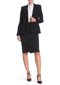 Lafayette 148 Slim Pencil Skirt