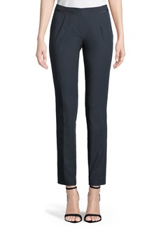 Slim Straight-Leg Pants