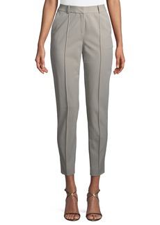 Lafayette 148 Slit-Cuff Slim-Leg Pants