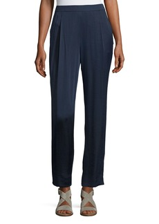 Lafayette 148 Soho Luminous Cloth Track Pants