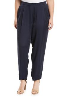 Lafayette 148 Soho Luminous Cloth Track Pants