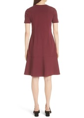Lafayette 148 Sonya Zip Front Dress