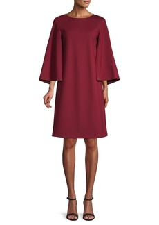 Lafayette 148 Split-Sleeve Shift Dress