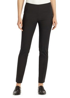 Lafayette 148 Stanton Bi-Stretch Slim-Fit Pants