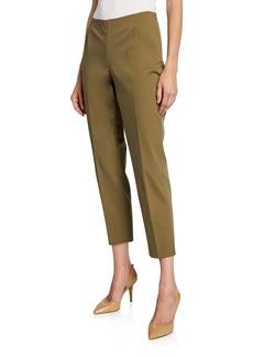 Lafayette 148 Stanton Fundamental Bi-Stretch Cropped Pants