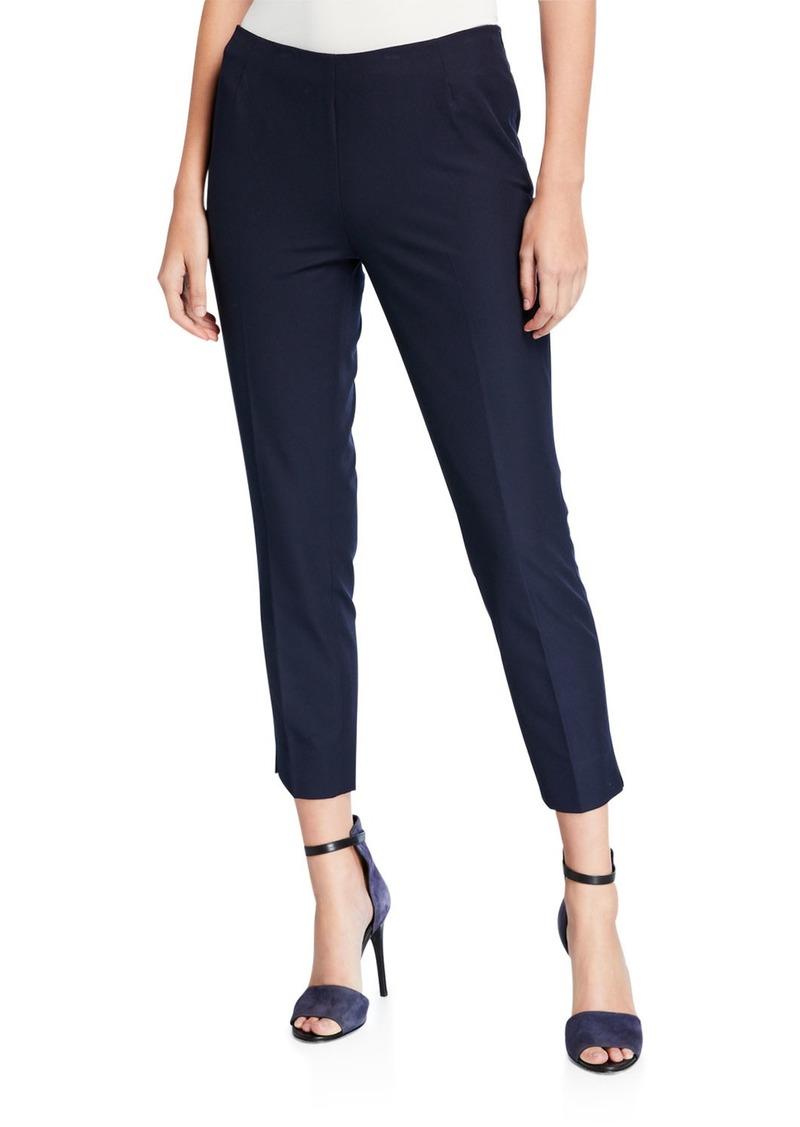 Lafayette 148 Stanton Gabardine Slim Fit Pants