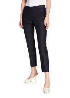 Lafayette 148 Stanton Straight-Leg Ankle Pants