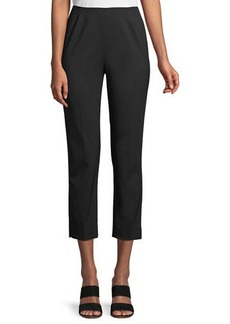 Lafayette 148 Stanton Stretch-Wool Pants