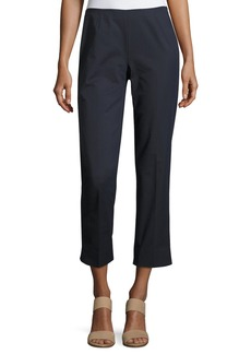 Lafayette 148 Straight-Leg Cropped Pants