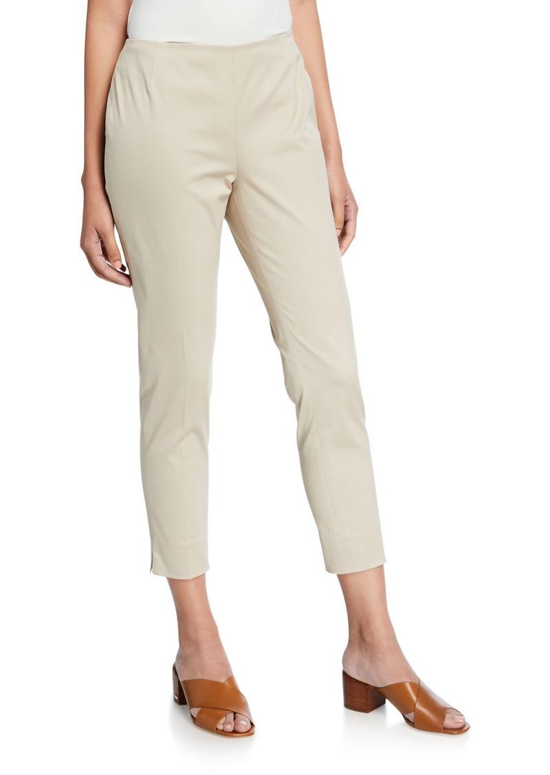 Lafayette 148 Straight-Leg Cropped Pants