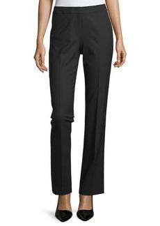 Lafayette 148 Straight-Leg Front-Zip Pants