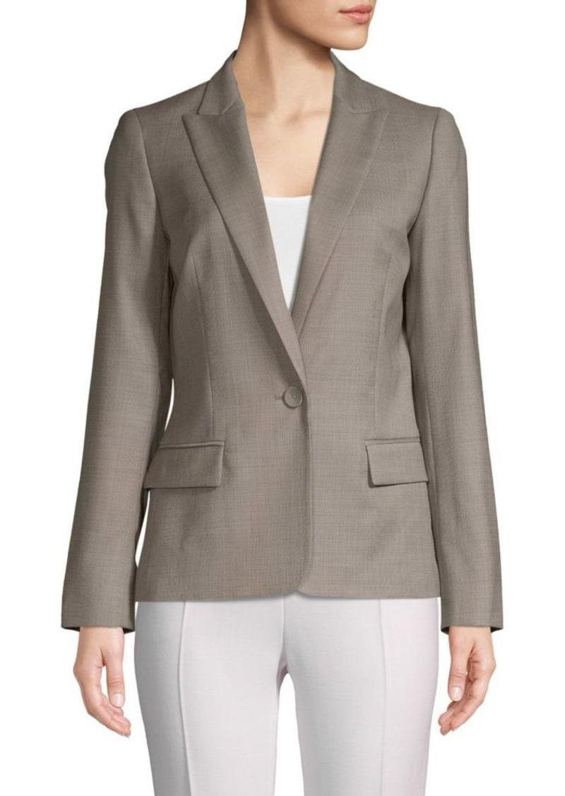 Lafayette 148 Susan Stretch Wool Jacket